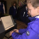 Image for the Tweet beginning: Violet Class visiting Bletchley Park