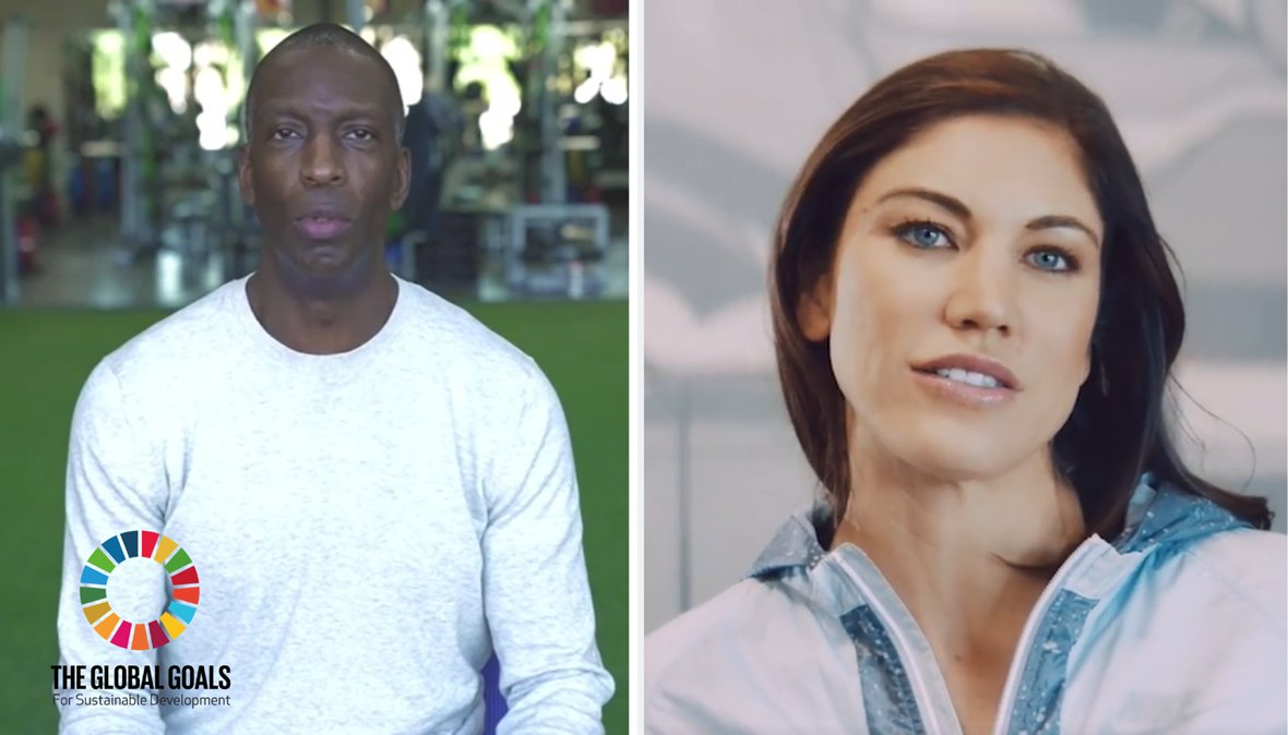 test Twitter Media - Bulletin: Olympians @MJGold & @hopesolo fuel action on #SDGs by supporting Beyond Sport Foundation, @MLB & @MLB_PLAYERS pledge $3m in grants, @Arsenal & @SavetheChildren highlight trauma program in #Davos.  Also @worldsailing lead a coral reef rescue.  📰: https://t.co/bjIDWMer99 https://t.co/ZzKDB5Nw5I