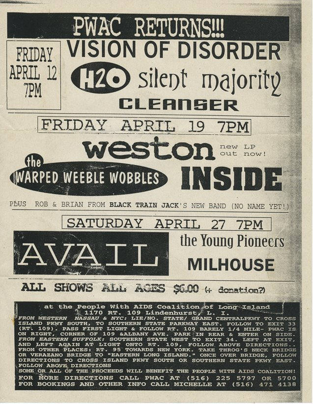 Finally found a flyer for my first hardcore show (on the top) shout out to @dan_goldberg for tracking this down. I believe it was 1997.