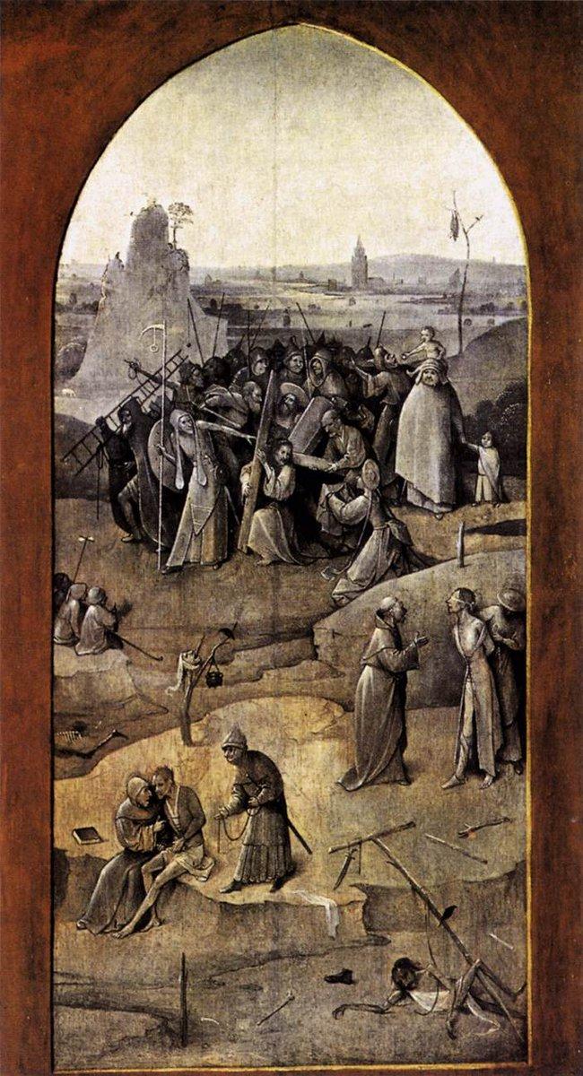Triptych of Temptation of St Anthony, 1506 #dutchart  #northernrenaissance