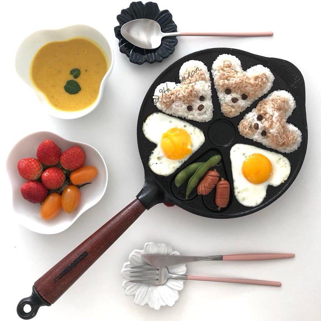 韓国🇰🇷Instagramでみつけた!  マルチーズやプードル、豆柴などを モチーフにしたランチプレートがかわいい❤️  食べるのが勿体無いくらい 可愛すぎるプレートは インスタ映え間違いなし!!📱✨  ワンちゃん好きは真似したくなる!🤭   #韓国 #インスタ映え #Instagram