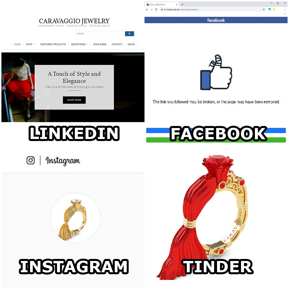 Caravaggio Jewelry 💎 #dollypartonchallenge #linkedin #facebook #instagram #tinder