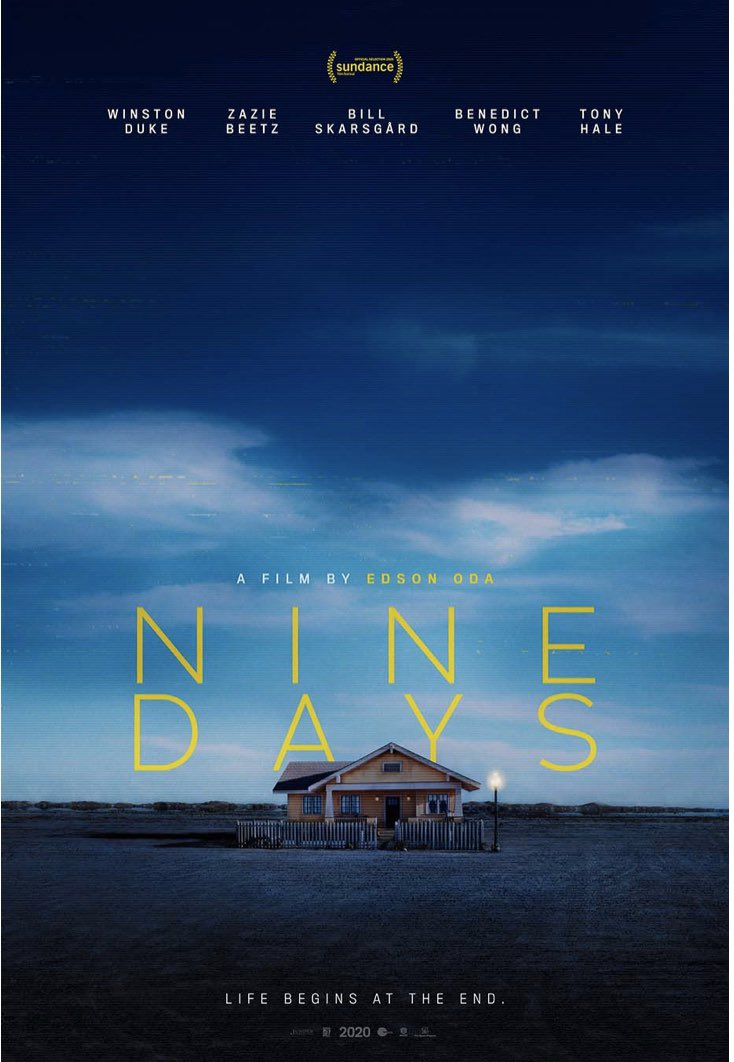Nine posters have been released in advance of the Sundance premiere of Nine Days (dir. Edson Oda)