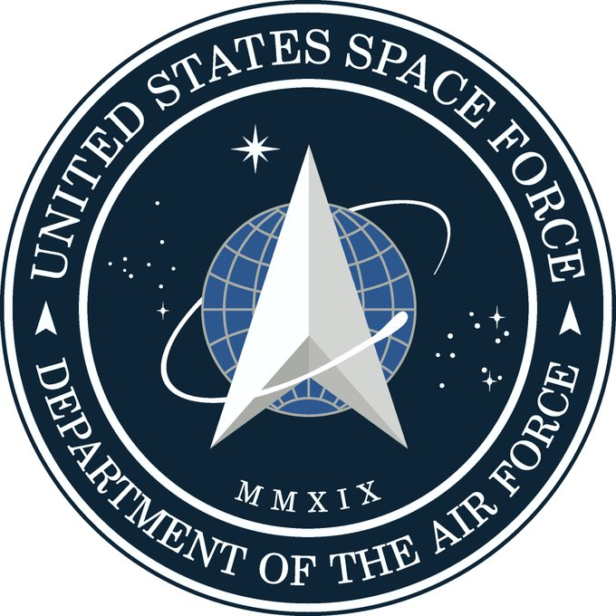 Replying to @Acosta: Trump just announced the new logo for the Space Force. The other is Star Trek Starfleet Command.
