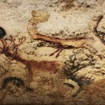 Image for the Tweet beginning: ....'Cave art came down to