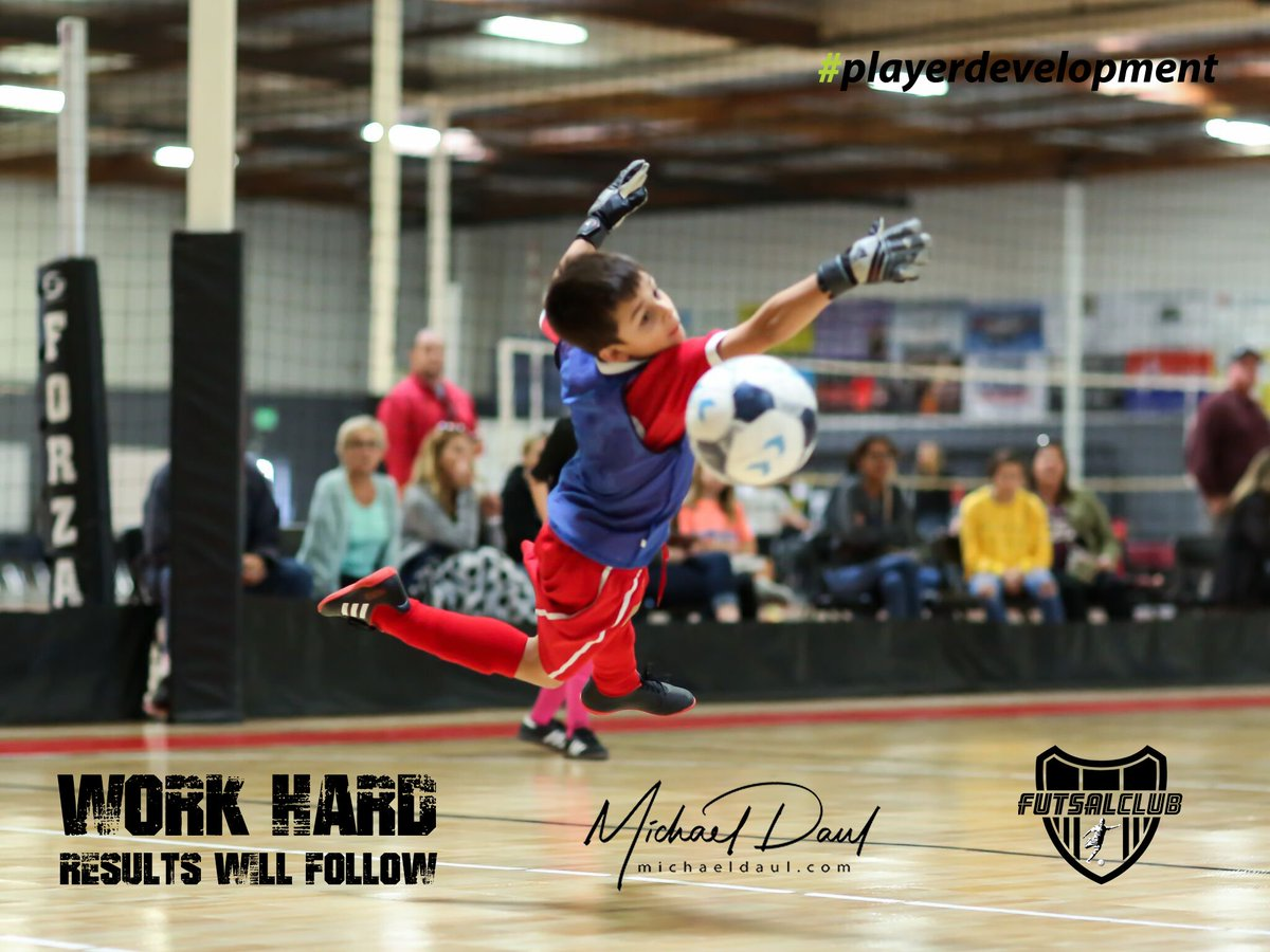 Results will ALWAYS follow when you WORK HARD! #hardwork #extratouches #playerdevelopment  We look forward to seeing you and a friend tonight!  1) 6-7:30pm Ages 6-11 2) 7:30-9pm Ages 12-13 3) 9-10:30pm Ages 14-18  FUTSAL REVOLUTION! #ForThePlayers pic.twitter.com/SlfmpJmGsC