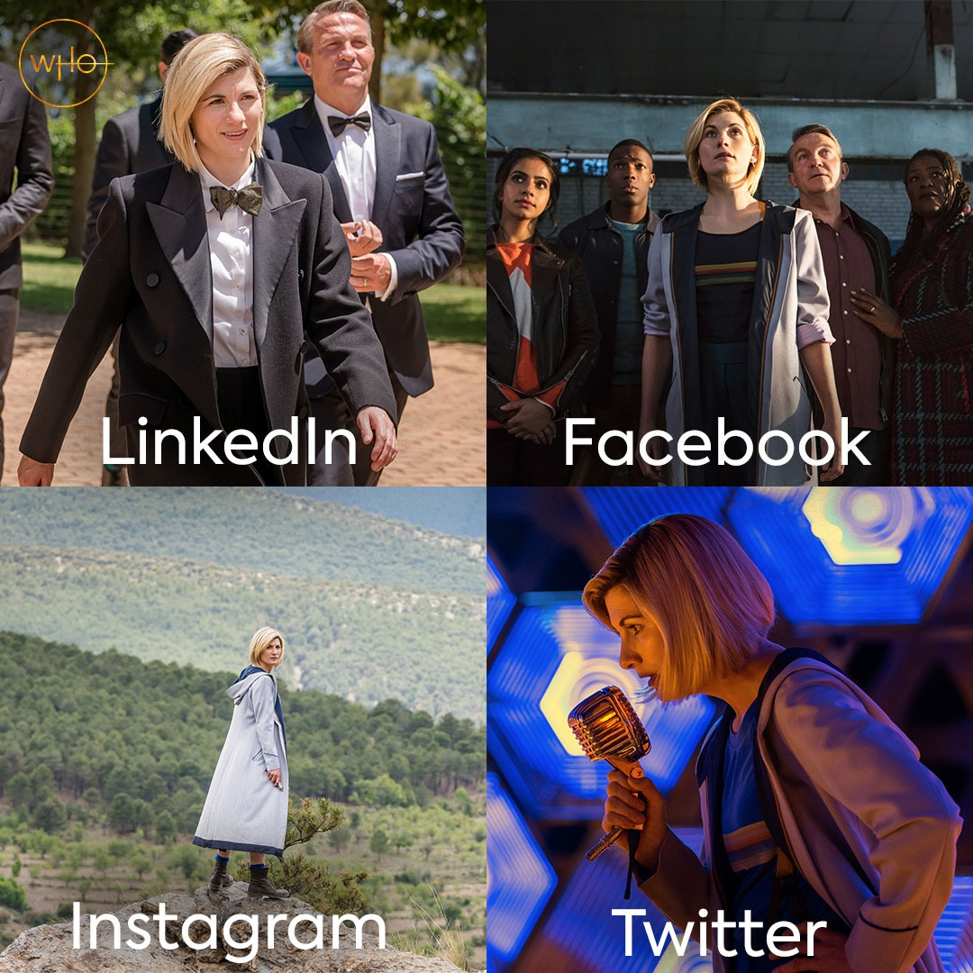 If the Doctor had social media... #DoctorWho #dollypartonchallenge
