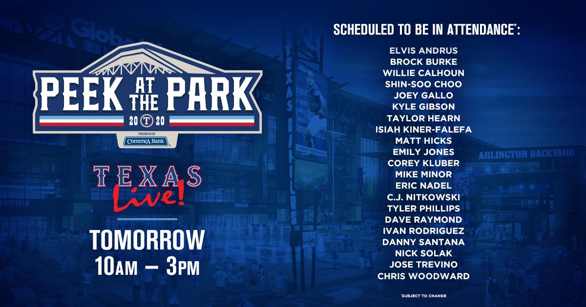 Stacked lineup. Ballpark views. Free to attend.