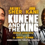 Image for the Tweet beginning: Moving new play Kunene and