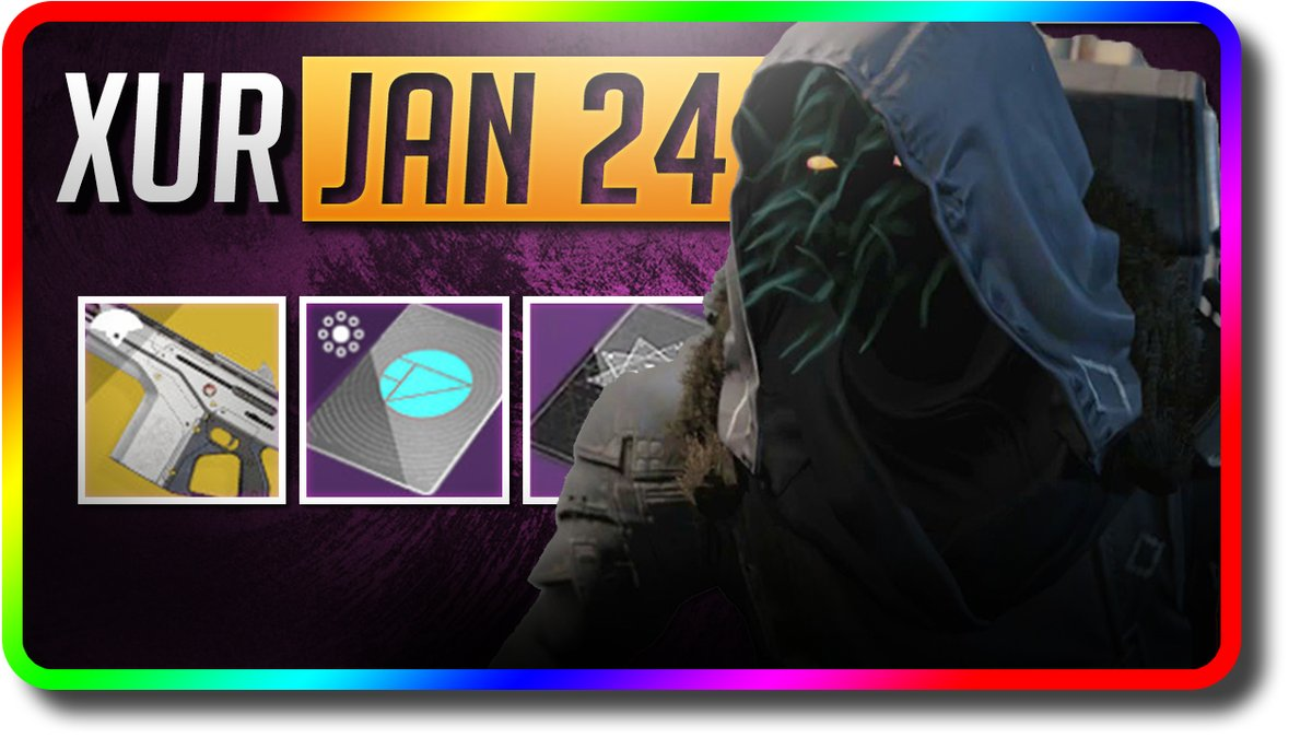 "Destiny 2 Shadowkeep - Xur Location, Exotic Armor ""Monte Carlo"" (1/24/2020 January 24) https://youtu.be/2RjwX0BqTlY  . #destiny #destiny2 #shadowkeep #gaming #videogames #bungie #PS4gamer  #gamer #destinythegame #bungiedestiny #hunter #titan #warlock #Xur #WhereIsTheXur #bhfyppic.twitter.com/IWemOffpKG"