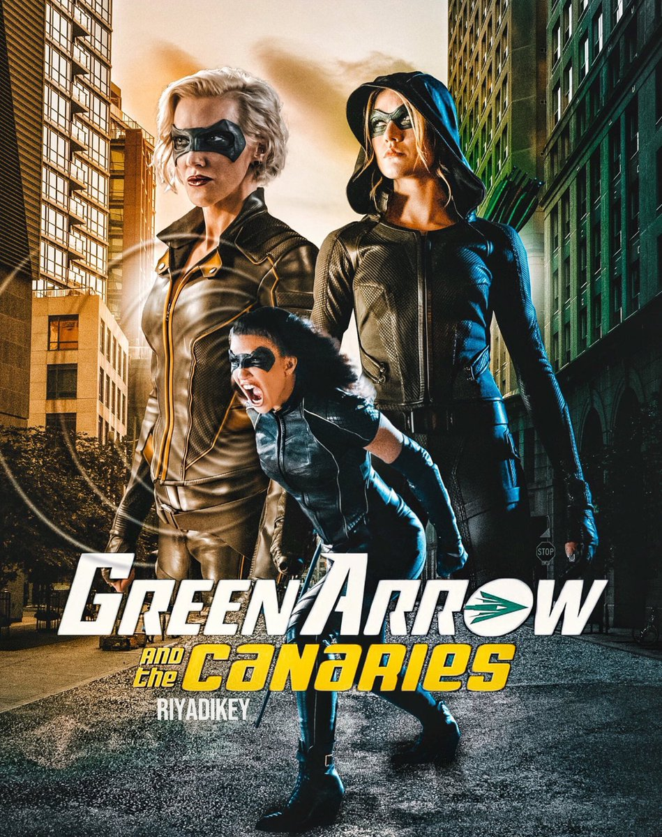 Who's ready for a series pick up?? 🗣🙋🏽♀️🖤🏹 #GreenArrowAndTheCanaries