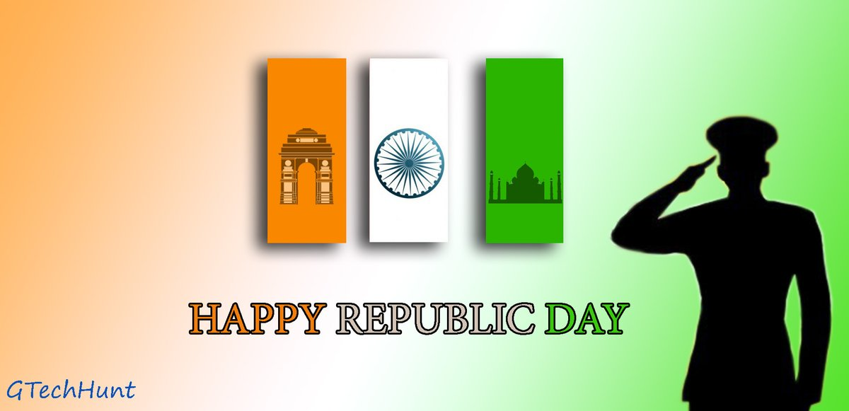 #RepublicDayIndia #National #India #RepublicDayOfIndia #Republic #RepublicDayCelebration #Patriots #Happy #IndianFlag #JaiHind #RepublicDay2020  #RepublicDay with GTechHunt. Connected with us: