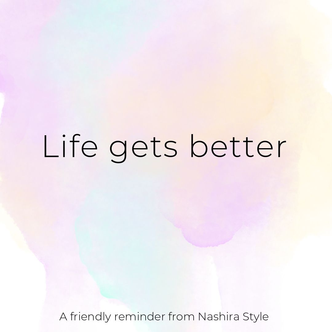 Life gets better. . . #quotes #inspiration #quote #quoteoftheday #frases #smile #power #woman #proud #miami #womanpower #loveyourself #lovequotes #success #dream #dreamlife #business #growth #startup #dontgiveup #loveyourself #lovely #frases #empoweringwomen #happy