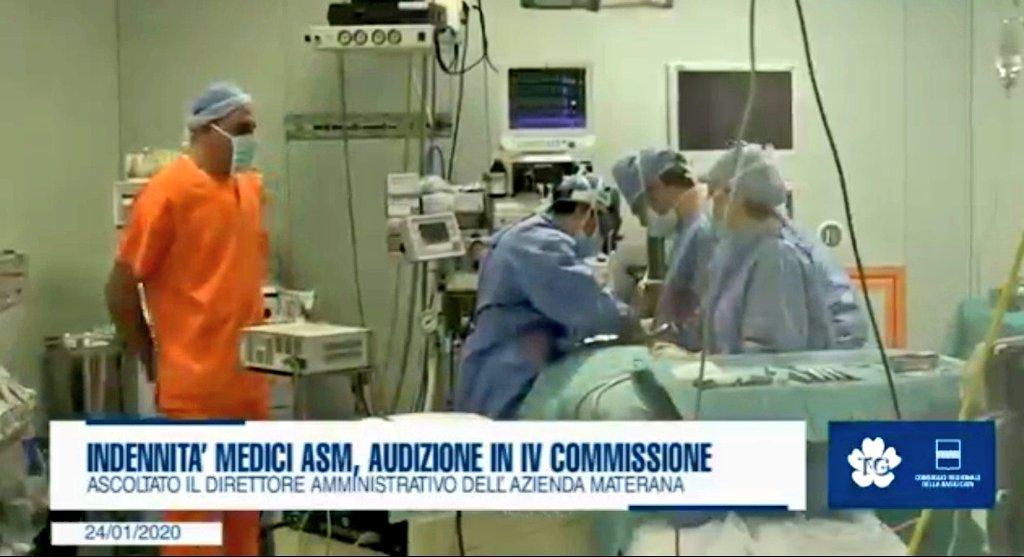 Indennità medici #Asm, audizioni in IV Commission...