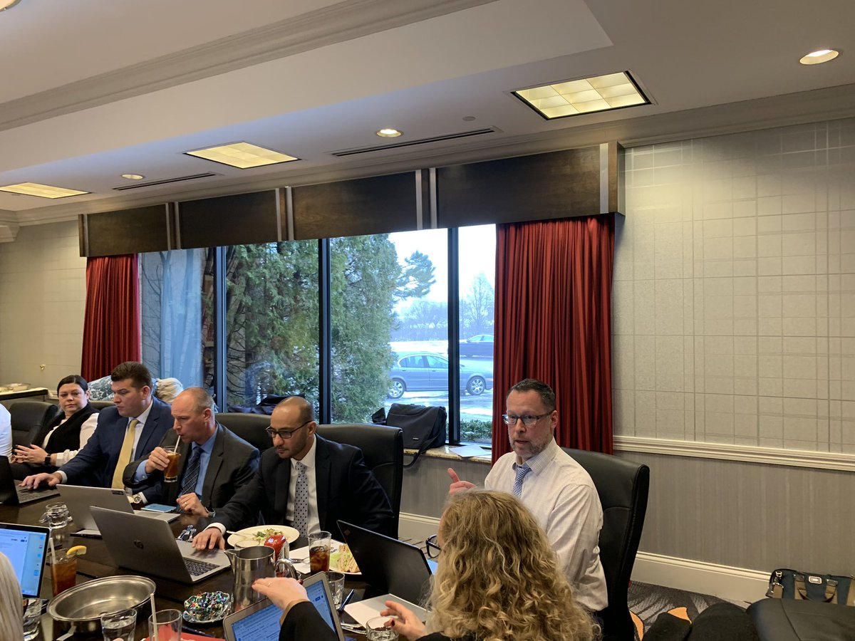 Amazing energy in this group and SO many others behind the scenes working hard to support educational leaders and HR professionals across the state. Many great things being planned for the year ahead. #IASPAchat https://t.co/I76m4yki2F