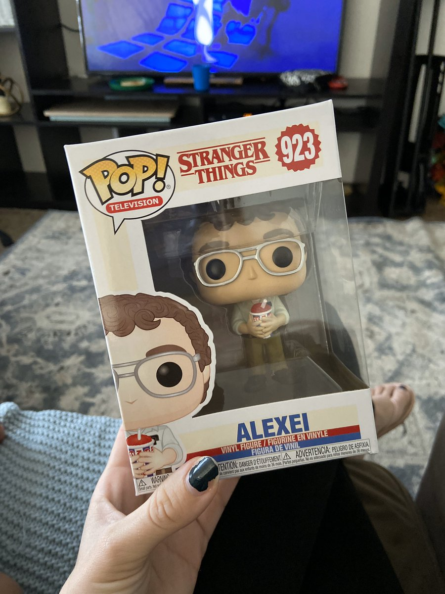 Random package from amazon ended up being an awesome gift from amazing friends  thank you @capthammerthrow!! #foralexei #strangerthings<br>http://pic.twitter.com/90573ZKC3H