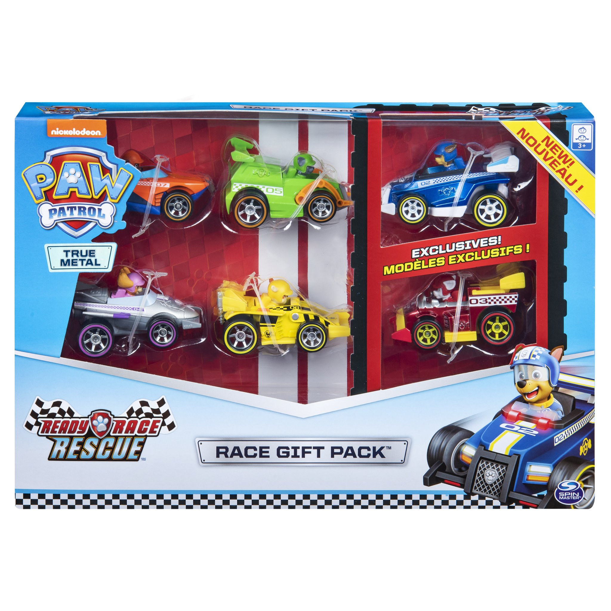 Spin Master Toys Uk On Twitter There Is Also A Gift Pack With 6 Cars Inside Readyracerescue