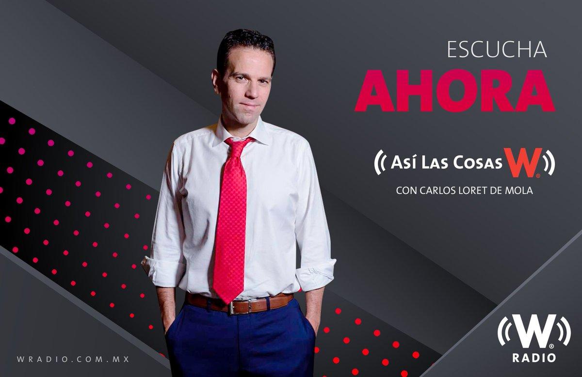 EN BREVE | Escucha #AsíLasCosasConLoret de lunes a viernes de 1:00 p.m. a 3:00 p.m.•Por el 96.9 FM o el 900 AM 📻•Conéctate #EnVivo 🔴http://bit.ly/WRadioAlAire•O en nuestra app http://bit.ly/AppWRadioCon @CarlosLoret 🎙