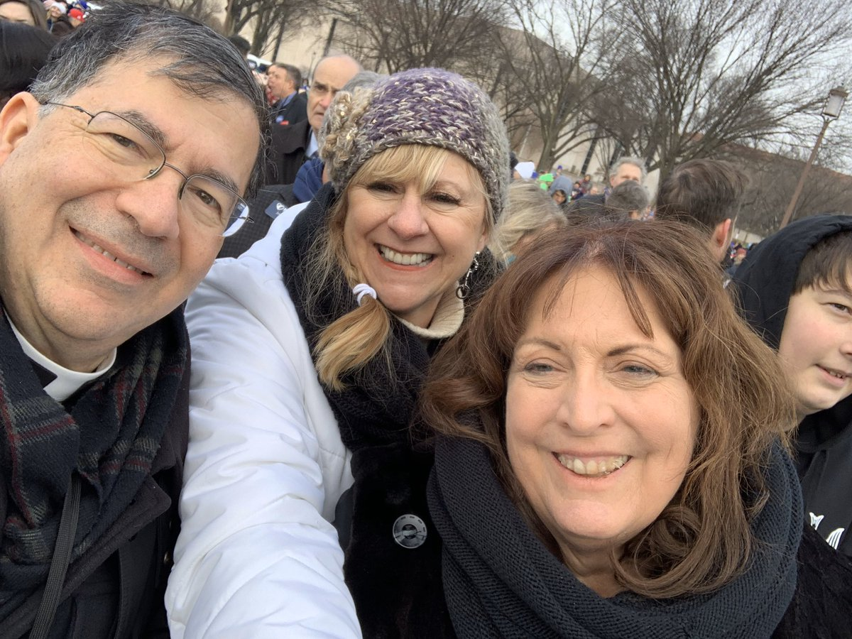 Supreme Court - here we come! The #marchforlife2020 has started!  #WhyWeMarch #RoevWade – at National Mall