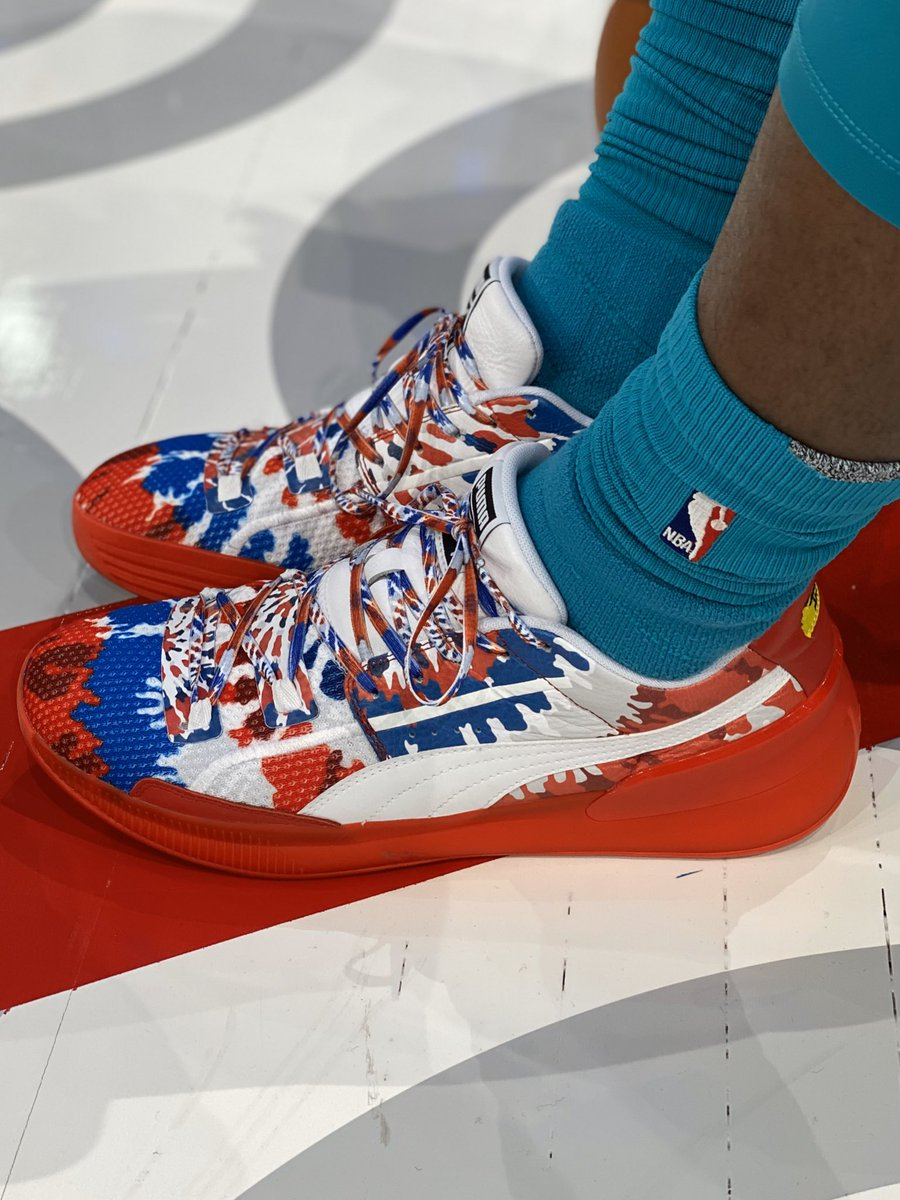 👟 @T_Rozzay3 takes the court in PUMA #NBAKicks ahead of NBA Paris Game 2020! #NBAParis