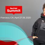 Image for the Tweet beginning: Our custom #RHSummit 2020 hoodie