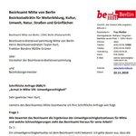 Image for the Tweet beginning: Schön, dass die @spdfraktionbln den