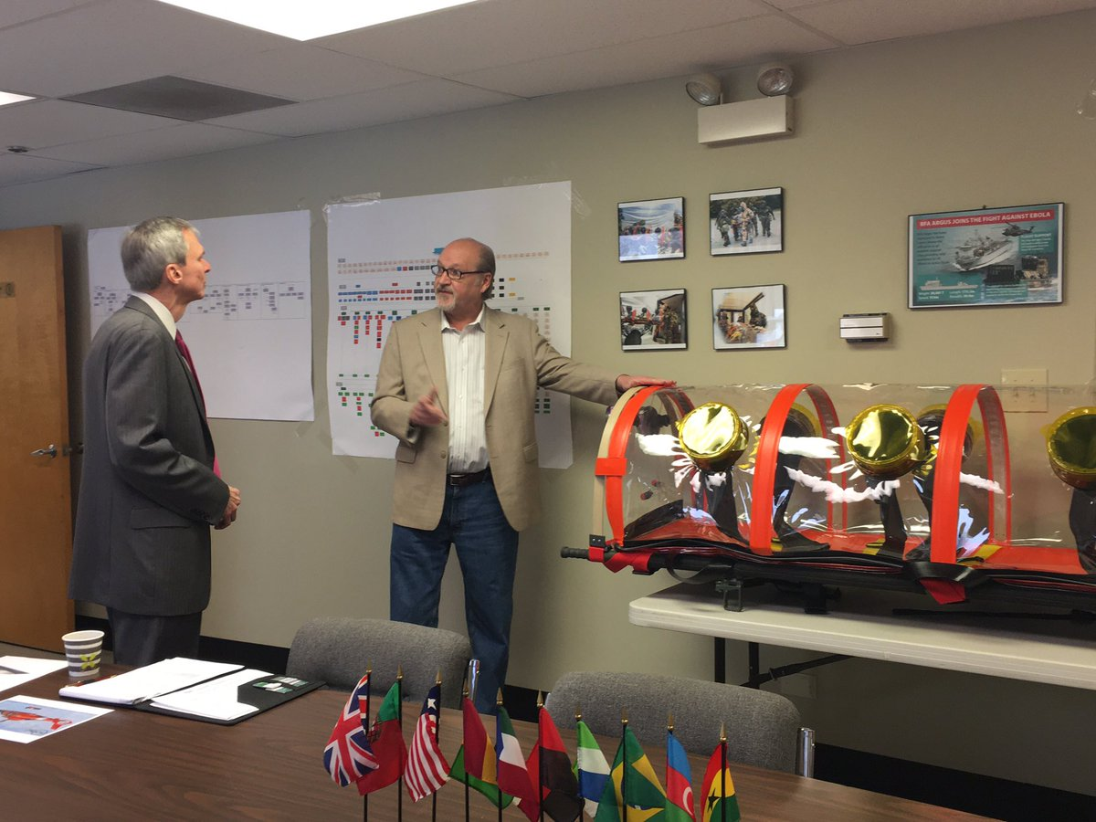 I had a very informative meeting with ISOVAC Products in Romeoville. It was interesting to see their products made right here in #IL03 to protect people from chemical, biological, or radiological threats, including the #coronavirus.<br>http://pic.twitter.com/YgQURrGGuH