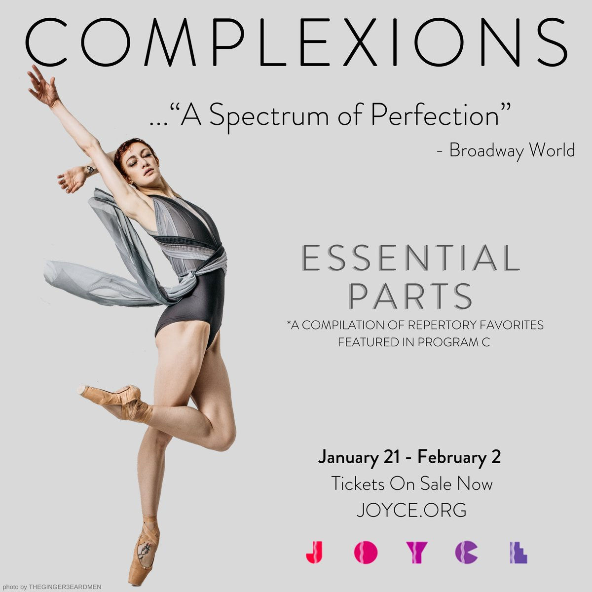 Beyond excited to see another performance by @complexionsdance at @TheJoyceTheater this weekend! Catch them perform in New York City through Feb 2! #JoyceTheater #GetCloserToDance #Complexions #contemporary #ballet #sponsored https://t.co/8U1HfM1Nju