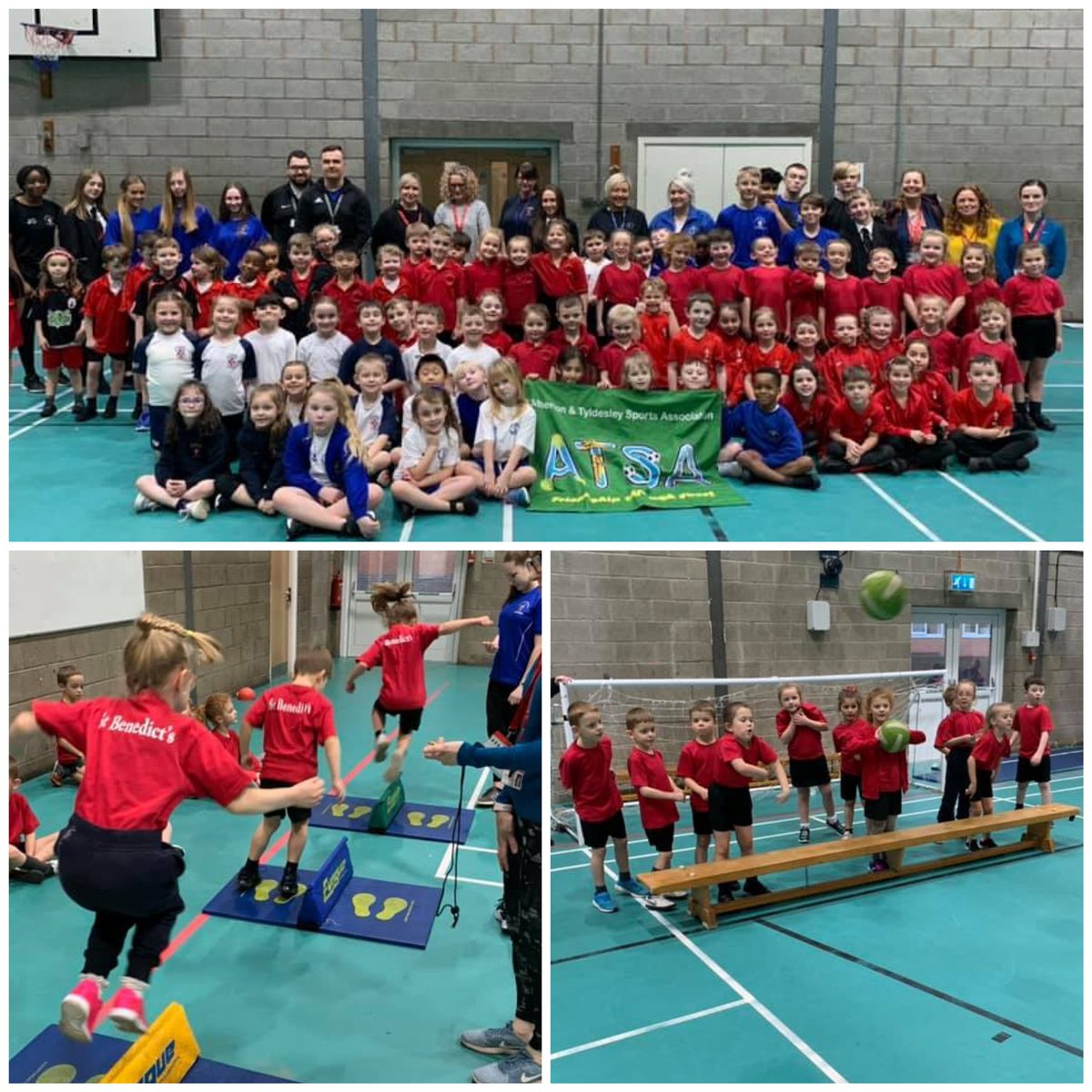 #Year1 #Year2 Well done to our 12 children who this afternoon competed in the ATSA athletics event at Fred Longworth High School. Such great talent and enthusiasm on display!