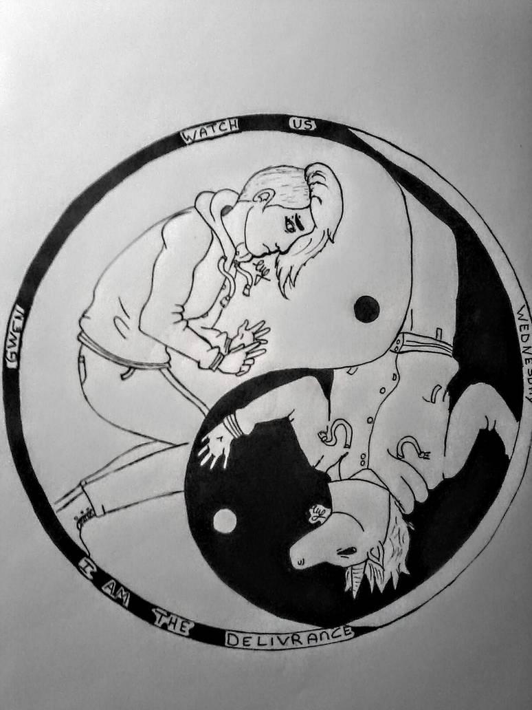 "[OC] Gwen / Wednesday ""Ying Yang"" go check my DA for more Next is SCP, fanart game, creepypasta and more ! #drawing #illustration #myart #mycharacter #traditionalart #yingyang #my_art #myoriginalcharacters #ying_yang #myartstylepic.twitter.com/NxxFW04Ic2"