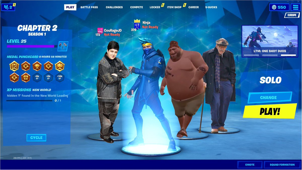 Jack Courage Dunlop On Twitter Can T Believe Ninja Timthetatman Drlupo And I All Have Skins Now In Fortnite What An Honor Thank You For The Support Https T Co Bceg9ucrag Official twitter account for #fortnite; jack courage dunlop on twitter can