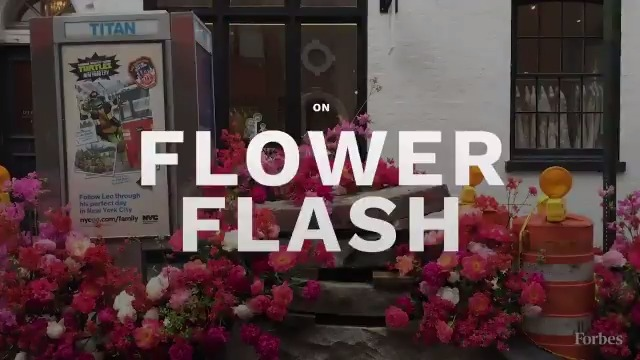 How entrepreneur and florist Lewis Miller created the iconic Flower Flash