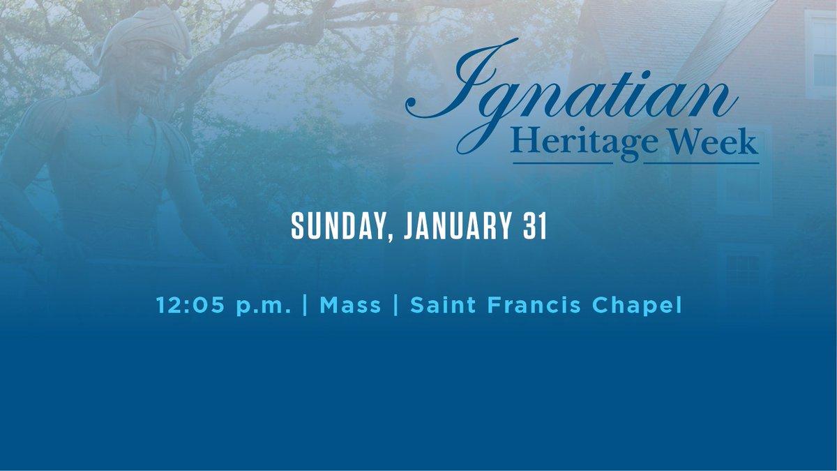 We end Ignatian Heritage Week the way we began: by gathering together to celebrate Mass. go.jcu.edu/ignatianherita…