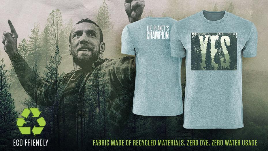 Daniel Bryan Reveals Special Eco-Friendly New Merchandise