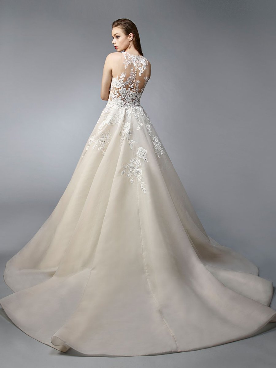 Stunningly sophisticated #wedding #gowns by Enzoani The friendly and fully trained staff at #Rowberry will help you find #TheDress #Gower #Swansea #bridal #bridesmaid #motherofthebride Rowberry Bridal and Fashion
