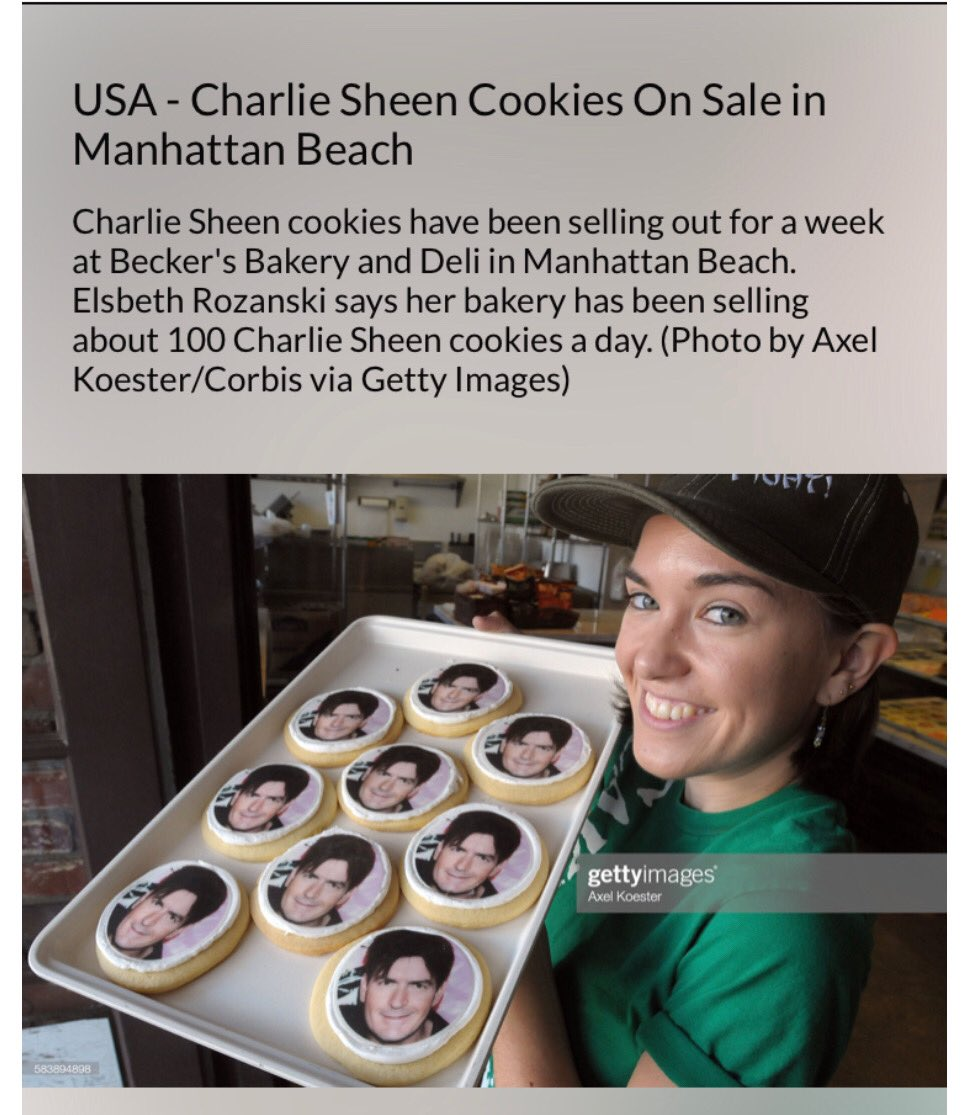 """in other news;  i never  imagined a """"me"""" comestible  could be this yummy !  i am truly honored  by the good folks at @beckersbakery !  😎©️😎 https://t.co/PXbE5Bo2gg"""