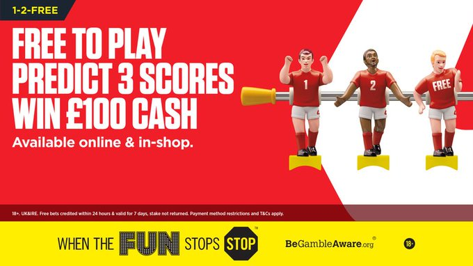 ladbrokes 1-2-free bet