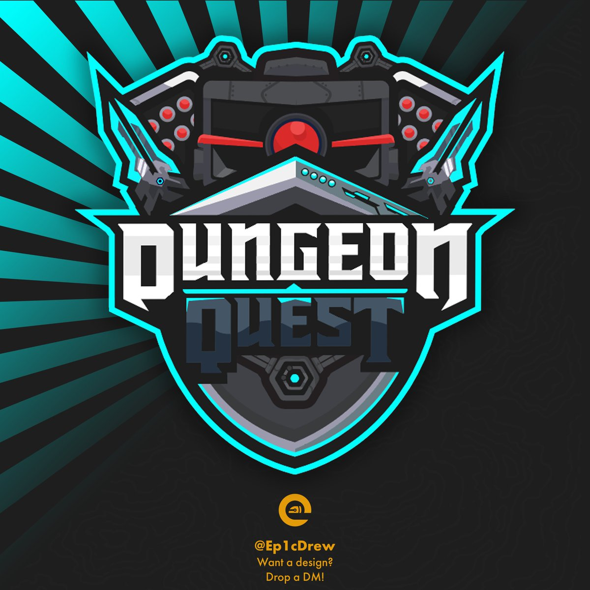 Ep1cdrew On Twitter Beep Boop Commission Logo For The Game