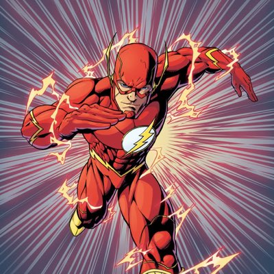 Screw it, Flash layout! #TheFlash #NewProfilePic