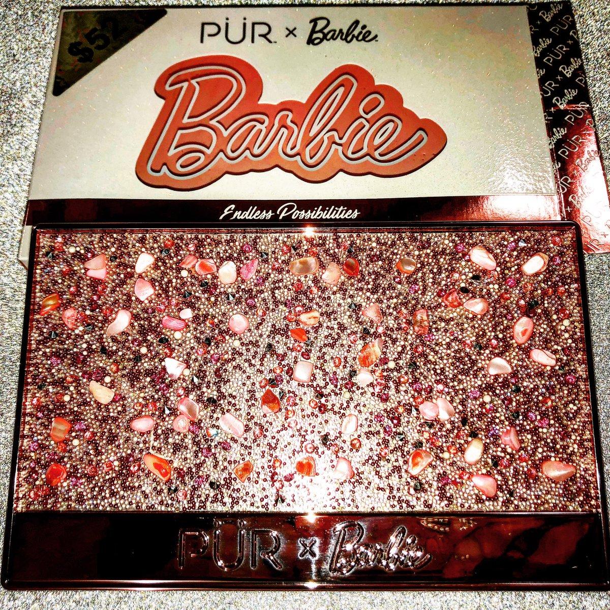 @purcosmetics #barbiepalette #barbie #palette #makeup