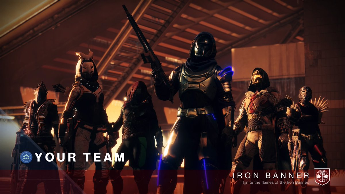 #Destiny2 #Ironbanner returns. Grinding that #Hunter gear. #Twitchstreamer #PS4 #Destiny2PS4 #Twitchaffilliatepic.twitter.com/RfFbE8glof
