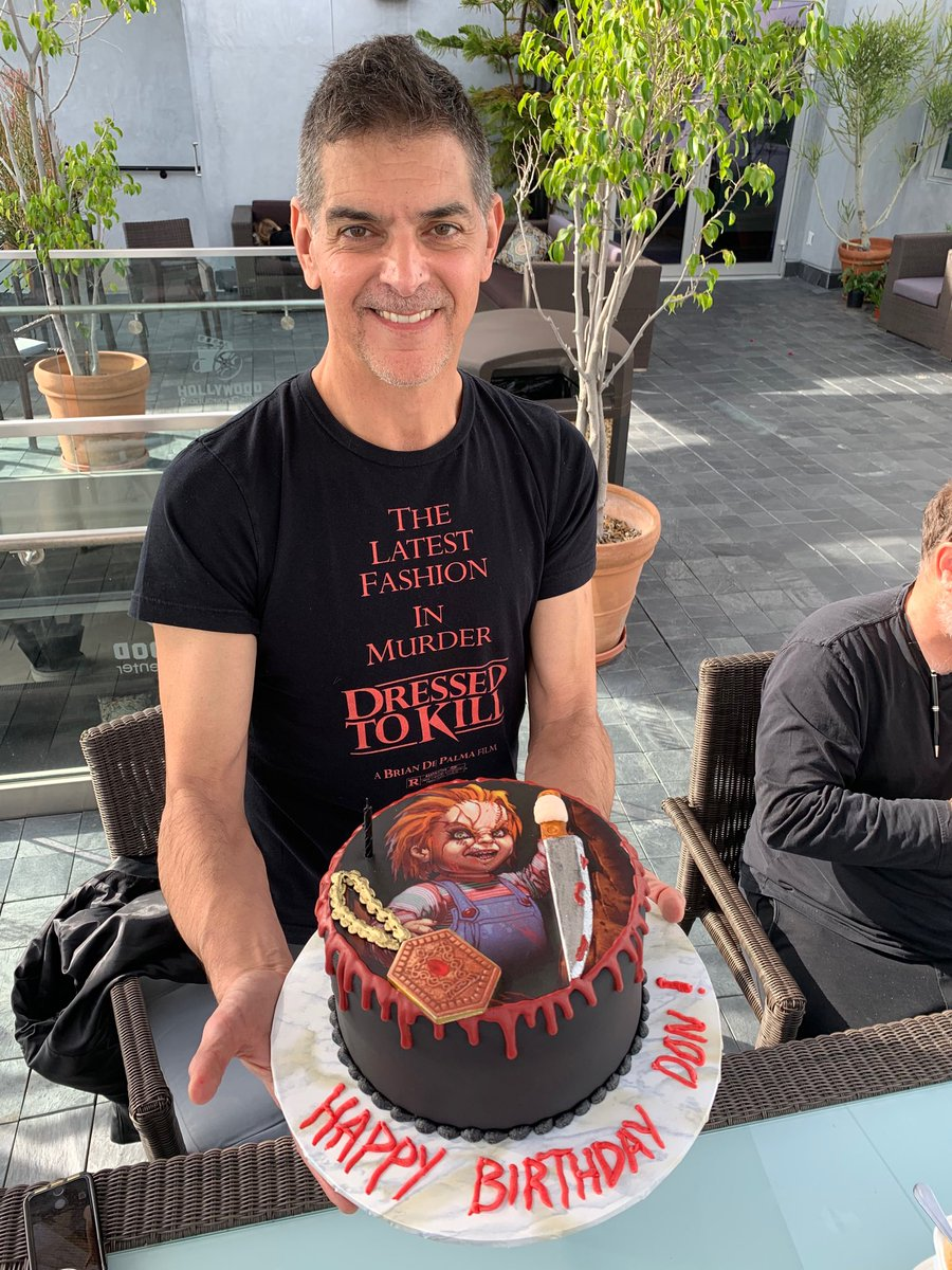 Astonishing Don Mancini On Twitter Happy Birthday To Me From The Chucky Funny Birthday Cards Online Sheoxdamsfinfo