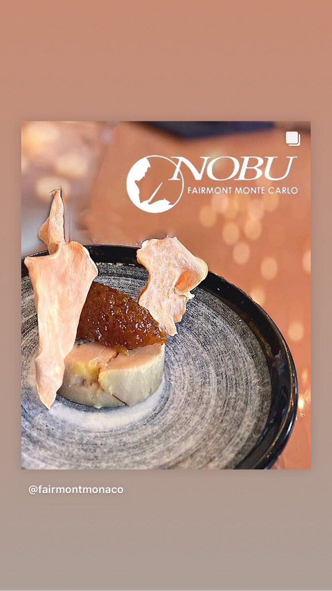 Start perfect #omakase at #NobuMontecarlo   @FairmontMC   #NobuCocktails @hokusetsushuzou