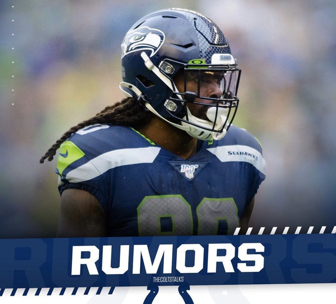 According to Charlie Campbell the #Colts are expected to make an agresssive push on the Seahawks Jadeveon Clowney.