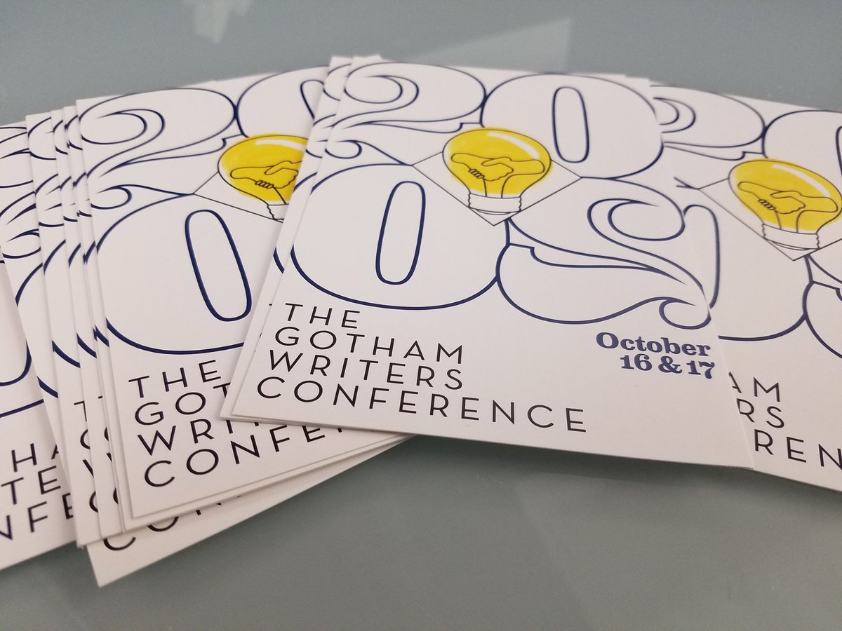 Oh, did we mention that conference registration is open?   And that the Day 1 schedule is up?   And that we were voted the best writing conference in New York?  And you can register here➡️https://t.co/2rLsaw4fc0 #GWC2020