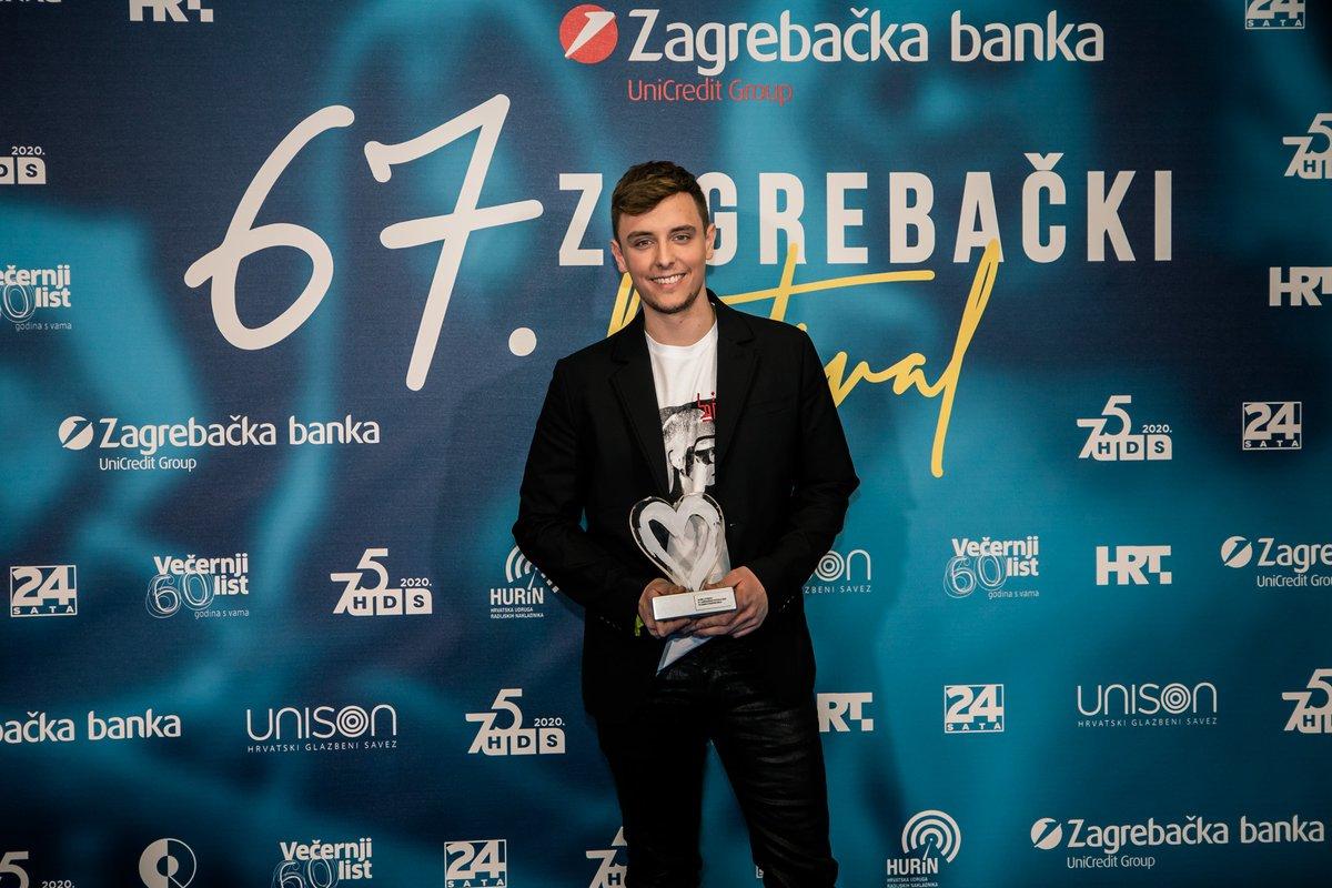 Zagrebacki Festival On Twitter Pobjednik 67 Zagrebackog