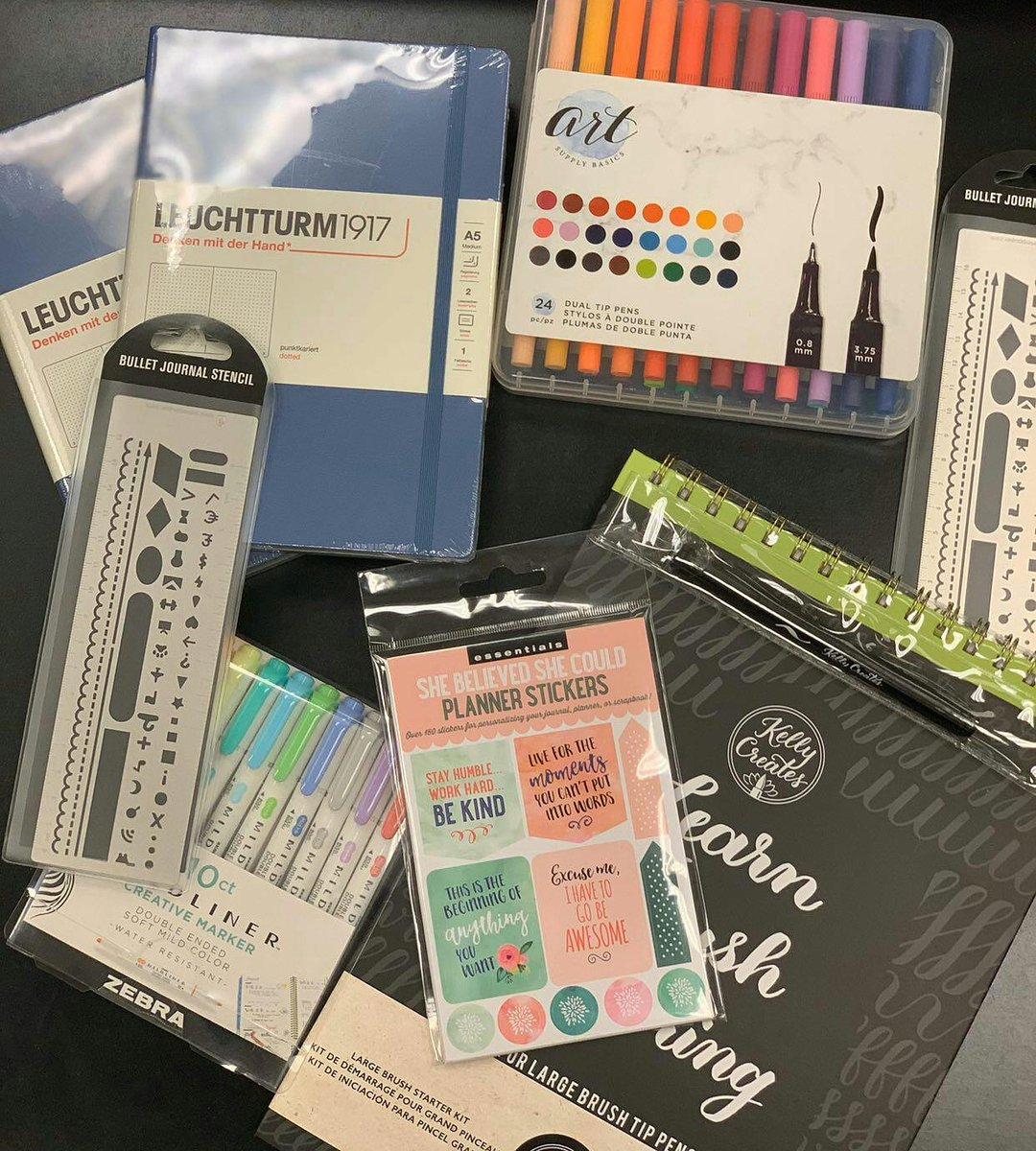We have all the essentials to start the year with #bulletjournaling! Come on by to check out all our different options