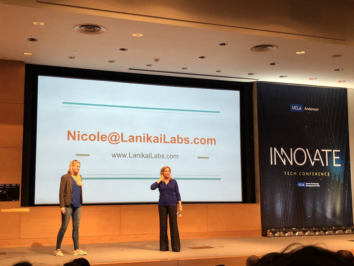 """Lanikai Labs claims to be """"too good"""" and """"too true"""". CEO and founder, Nicole, passionately discusses how this start up from UCLA's accelerator is challenging cloud tech giants with a new concept of connected devices! @EastonCenter @uclaanderson #AndersonTech<br>http://pic.twitter.com/i6IarKiK6q"""