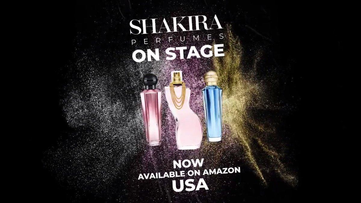 Shak's perfume range is now available on Amazon US! Los perfumes de Shak ya están disponibles en Estados Unidos en Amazon! smarturl.it/amazonlaunch ShakHQ