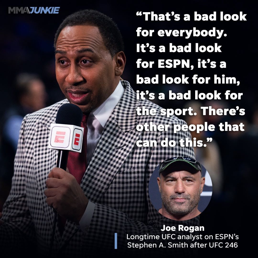 ESPN Star Responds To Criticism From Joe Rogan. Does He Have A Point?